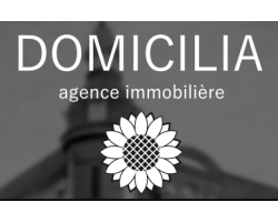 Domicilia agence immobilière logo