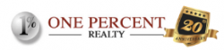 One Percent Realty logo