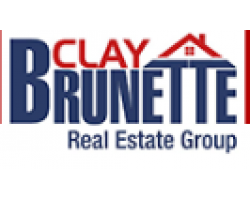 CLAY BRUNETTE real estate group logo